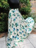 1940's Pure silk rose print vintage evening skirt **SOLD**